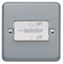 MK Metalclad K2859ALM TP Fan Isolator Switch 10A