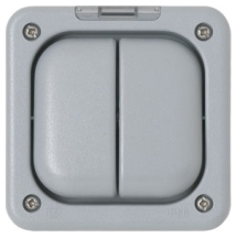 MK Masterseal K56422GRY 2 Gang Enclosure IP56 In Grey