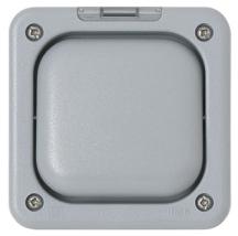 MK Masterseal K56420GRY 1 Gang Enclosure IP56 In Grey