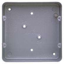 MK 893ALM Box 6 & 8 Gang Flush c/w KO
