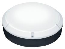 Thorn Lara 1200lm 4000K Black IP65 LED Emergency Bulkhead with Microwave Sensor