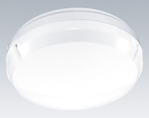 Thorn LERL12ZOPW Round Bulkhead IP65 & LED