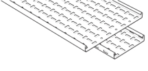 Legrand MRFL100PG Cable Tray 100mmx3m
