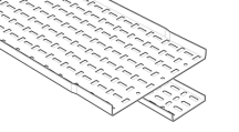 Legd SSL50PG Cable Tray 50mmx3m