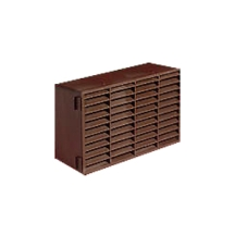 Manrose Double Airbrick 220mmx90mm Brown