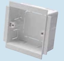 Marco MTSB1 Socket Box 1G 35mm White