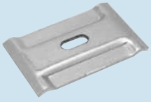 Wire Basket Clamp Large Electro Zinc Plated