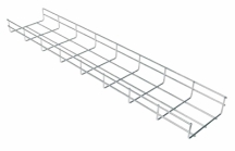 Wire Basket Tray Electro Zinc Plated 55mm Deep x 50mm  x 3m Length