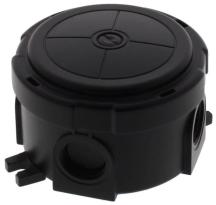 Wiska Combi 304 10110630 Junction Box 82x82x57mm Black