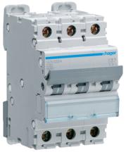 Hager NCN332A MCB TP Type C 32A 10kA