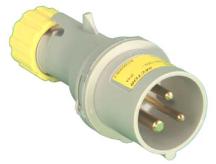 Lewden Plug 2P+E IP44 16A 110V