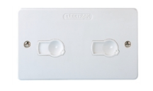 Electrak AZ0010 Twin Socket White