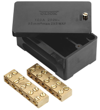 Click WA228 Junction Box 2P 100A Blk