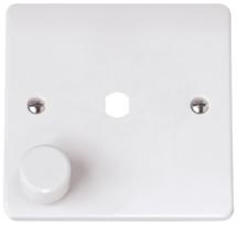 Click CMA145PL 1 Gang Single Dimmer Plate & Knob