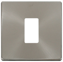 Click SCP20401BS Definity Frontplate 1G