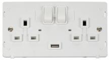 Click SIN770PW Swd Skt Inter 2G & USB