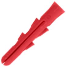 Unicrimp QWPR001 Wall Plug Red Box=100