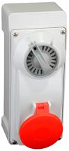 Lewden PM16/3308NFPB Socket 3P+N+E 16A