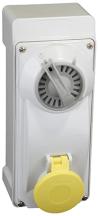 Lewden PM16/3300NFPB Socket 2P+E 16A110V