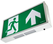 Robus R8EMLED-01 LED Exit Box Maintained White