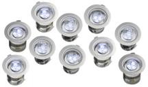Robus R3LED10-01 Groundlight Kit 10 x 3 White LEDs