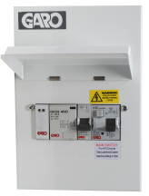 Garo Consumer Unit, MCU Type A RCBO and PME Fault Detection