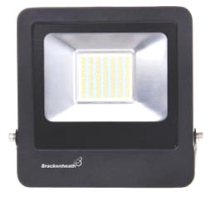 Brackenheath N6340 Floodlight LED 50W Black