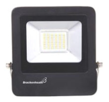 Brackenheath N6320 Floodlight LED 20W Black