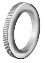 Conduit Milled Lockring 20mm BZP