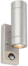 Saxby 75430 Palin Wall 2 Light & PIR 7W