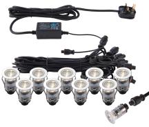 Saxby 73347 Light Kit 0.75W 25x1mm PSS Decking Lights