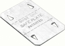 G/Brook SP1 Safe Plate 52x75mm Glv Stl