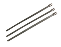 300mm x 4.6mm Stainless Steel Cable Ties (Pack 100)
