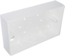 G/Brook RC2 Surface Box 2 Gang 32mm PVC