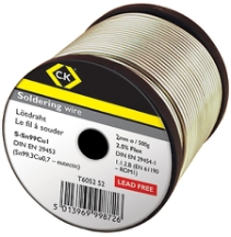 CK Tools 2mm Lead Free Soldering Wire