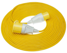 Briticent SE3030 Extension Lead Cable 16A 2.5mm Yellow