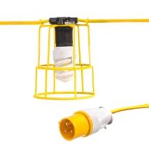 Briticent SEFLKITES 10 ES Lamp Festoon Lighting Kit 110V 25m