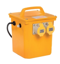 2 Outlet Portable Transformer 1500Va 16A 110V