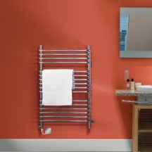 Dimplex 350W Chrome Ladder Towel Rail