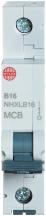 Wylex NHXLB16 MCB SP B Curve 16A