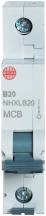 Wylex NHXLB20 MCB SP B Curve 20A