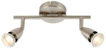 Saxby G2521313 Spotlight Bar+GU10 2x50W