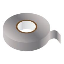 GREY PVC Insulating Tape 19mm x 33m