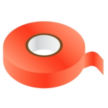 RED PVC Insulating Tape 19mm x 33m