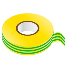 GREEN & YELLOW PVC Insulating Tape 19mm x 33m