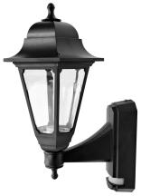 ASD CL/BK100P BC Lantern & PIR 100W