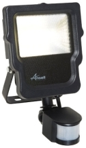 Ansell ACALED10/PIR Floodlight & PIR 10W