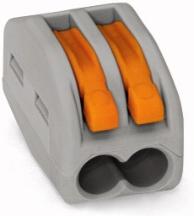 Wago 222-412 Connector 2 Conductor Grey
