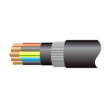 Cable 6945XLH 5C Col SWA PVC 4mm Blk