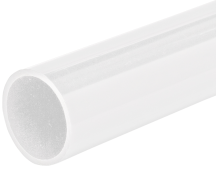 Marshall Tufflex White Heavy Gauge Round Plastic Conduit 25mm x 3m